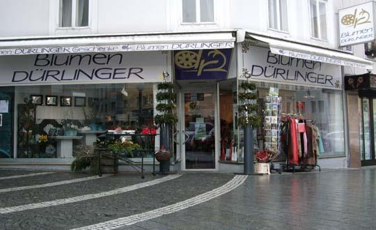 Blumen Dürlinger, Geschäft Stelzhamerplatz 13, Ried im Innkreis